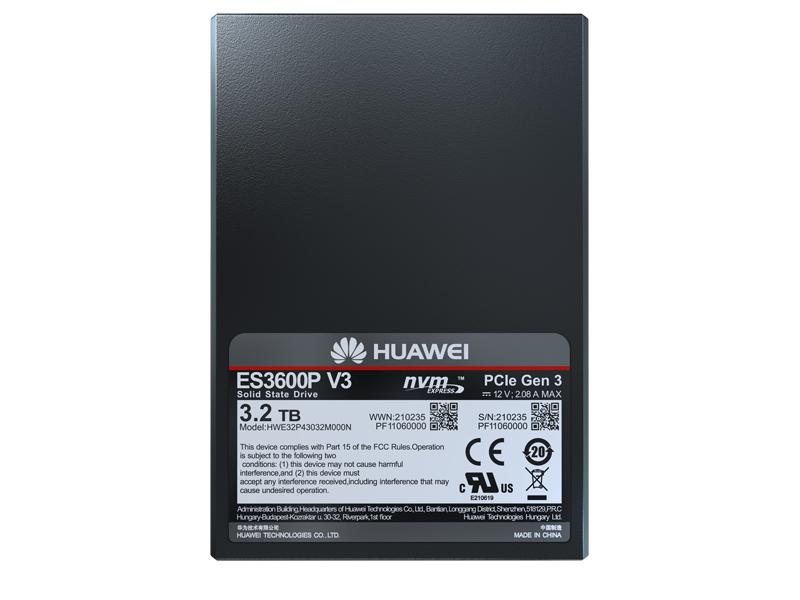 Huawei ES3000 V3 Series NVMe SSD Storage Device