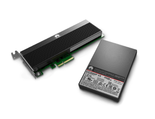 Huawei ES3000 V5 Series NVMe SSD Storage Device
