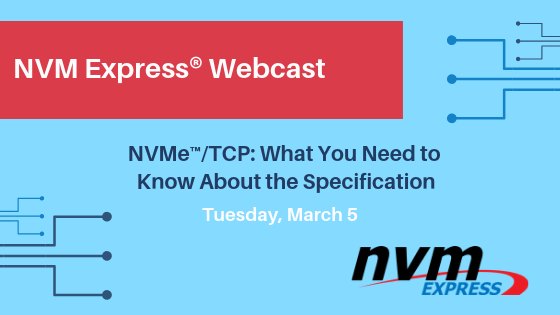 Answering Your Questions: NVMe™/TCP: What You Need to Know About the