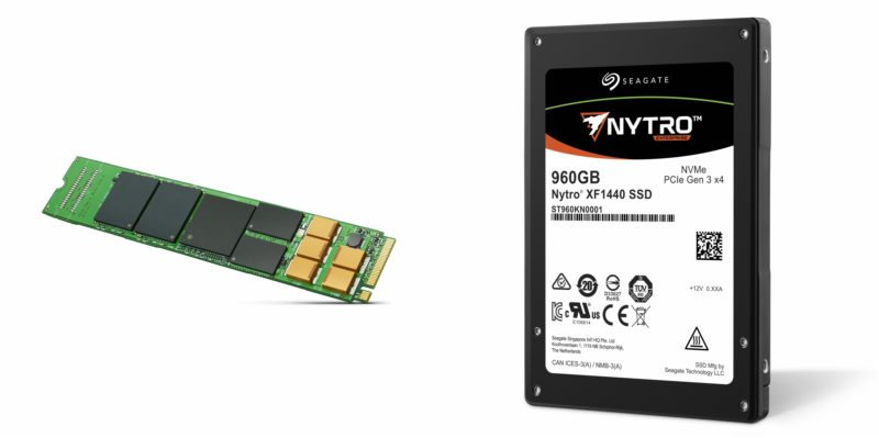 Seagate Nytro® Data Center NVMe SSDs