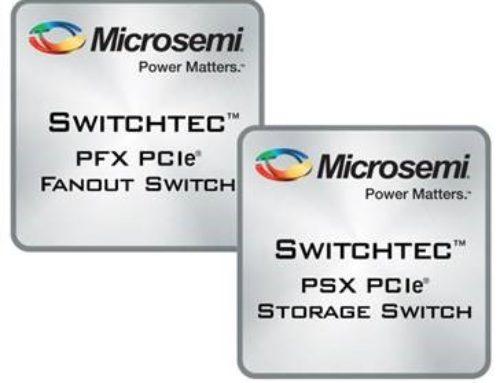 Microsemi Switchtec PCIe Gen3 Switches